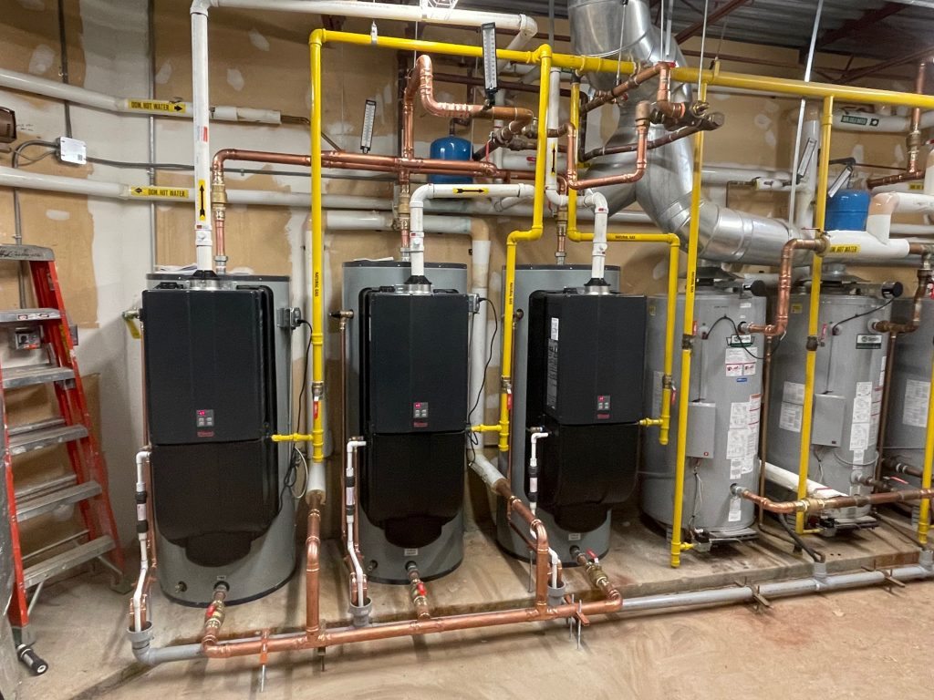 Commercial HVAC Heating install