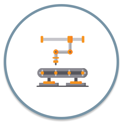 Industries we service - Industrial and process icon
