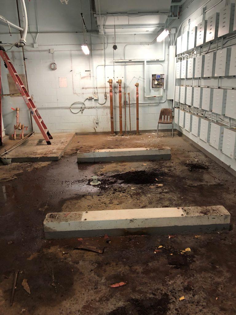 Highschool HVAC Overhaul 3 removal