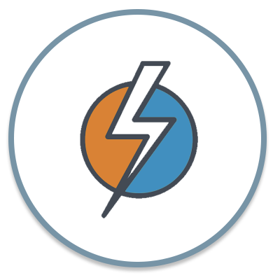 HVAC electrical services icon